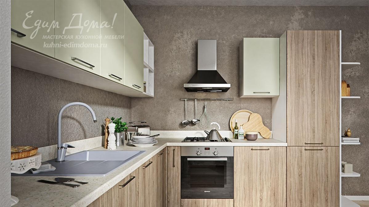 Кухня едим дома в интерьере